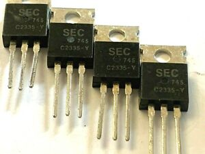 4 Pieces 2sc2335 Npn High speed High voltage Ecg379 Free Shipping Within Us