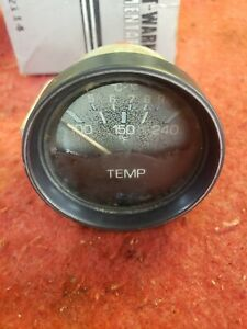 Stewart Warner Temp Gauge Alfa Spider Vintage Used