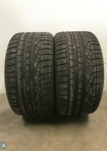 2x Take Off P295 35r19 Pirelli Sottozero 240 Serie2 No Rft 10 32 Used Tires