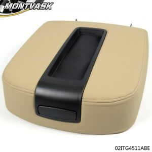 For 07 14 Chevy Silverado Gmc Sierra Beige Front Center Console Armrest Lid
