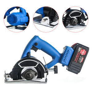 Rechargerable Multifunctional Electric Wood Stone Cutting Slotting Machine 110mm