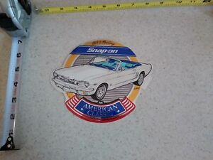 Vintage Snap On Tools Decal Sticker American Classics 1964 1 2 Ford Mustang