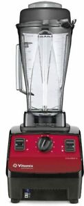 Vitamix 64 Oz 62826 Vita prep 3 Food Blender Red