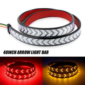 40 Led Truck Strip Tailgate Light Bar Brake Reverse Sequential Signal Tail Us