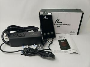 Poniie Tc 15a Digital Temperature Controller 2 stage Outlet Thermostat Heating