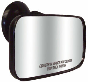 Cipa Suction Cup Universal Rearview Marine Boat Mirror With Adhesive 4 X 8