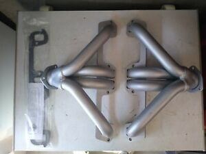 Summit Racing Mopar Small Block La 318 360 340 Shorty Exhaust Headers Painted