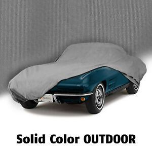 1963 1967 Corvette Coupe Or Convertible Gray Outdoor All Weather Car Cover
