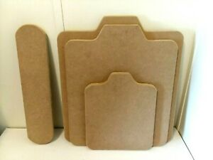4 Pack Combo Premium Mdf T shirt Screen Printing Platens Pallets Boards