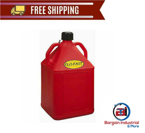 Large Red Polyethylene Gas Diesel Can Transport Storage Container 15 Gallon New