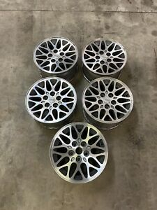 1993 1998 Jeep Grand Cherokee Zj Cherokee Xj Grey Snowflake teardrop Wheels
