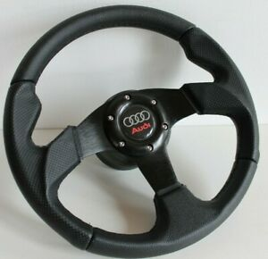 Steering Wheel Fits Audi A3 A4 A6 A8 8l B5 C5 Racing Perforated Leather 96 2001