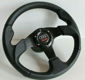 Steering Wheel Audi Perforated Leather Racing 80 90 100 B3 B4 S2 Rs2 1986 1996