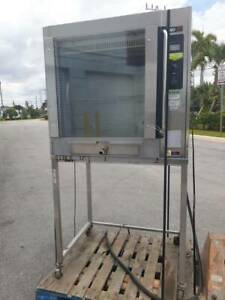 Bki Vgg Touchtec Stainless Commercial Bird Chicken Rotisserie Oven W Stand