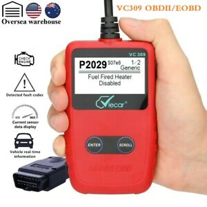 Vc309 Obdii Obd2 Scanner Automotive Engine Fault Code Reader Diagnostic Tool