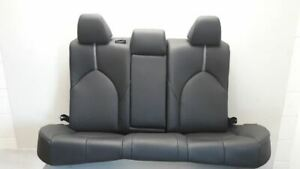 18 2018 Toyota Camry Xse Oem Rear Seat Assembly Black Leather Gray Accent