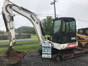 2002 Bobcat 442 Hydraulic Mini Excavator For Parts Please Read Description