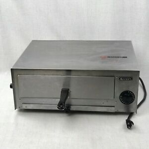 Adcraft Ck 2 Countertop Pizza snack Electric Oven Stainless Steel