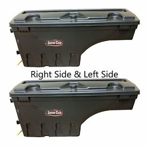 Undercover Driver Passenger Side Swing Case Toolboxes For 05 18 Toyota Tacoma