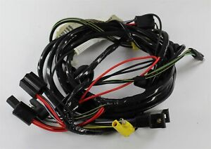 New 1970 Dodge Coronet Forward Lamp Wiring Harness W O Fender Top Turn Signals