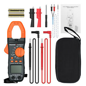 6000 Counts Digital Multimeter Advanced Clamp Meter Trms Ac dc Test Auto ranging