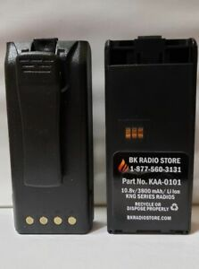Kaa 0101 3600 Mah Battery For Relm Bk Radio Kng With Belt Clip
