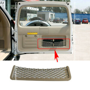 Rear Tail Door Toolbox Pocket Cage Storage Net For Toyota Prado Lc120 2003 2009