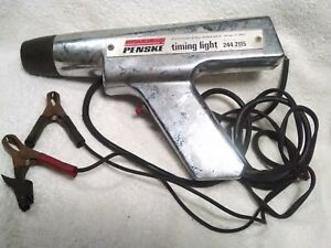Vintage Sears Roebuck And Company Penske Chrome Power Auto Timing Light 244 2115