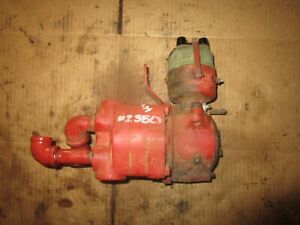 Distributor M W Live Hydraulic Pump Assembly For Farmall H Sh