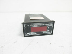 Omega 650 k x 120vac Type K Thermocouple Thermometer Model 650 k
