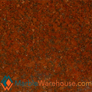 Imperial Red Ruby Red Polished Granite Tile 12 x12 Free Shipping