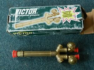 46 New Victor Journeyman 315fc Cutting Welding Torch Handle Ca2460 0382 0093