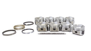 Wiseco Pro Tru Big Block Chevy 4 310 In Dome Forged Piston 8 Pc P N Pts514a6