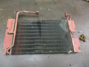 Ih Farmall 706 Used Working Hydraulic Oil Cooler Antique Tractor