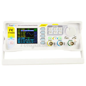 Fy6900 60m Dds Signal Generator 2 channel 0 01 100mhz Arbitrary Waveform Pulse