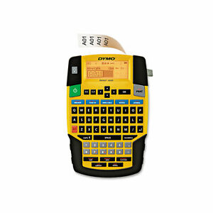 Rhino 4200 Basic Industrial Handheld Label Maker 1 Line 4 3 50x8 23 50x2 6 25