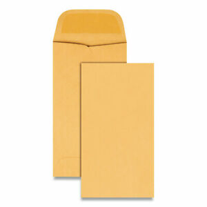 Kraft Coin Small Parts Envelope 5 Square Flap Gummed Closure 2 88 X 5 25