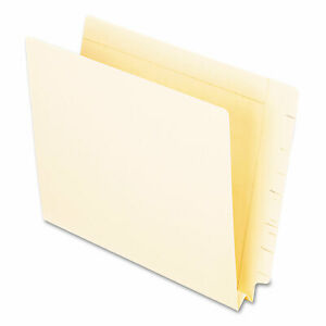 Manila End Tab Expansion Folders Straight Tab Letter Size 50 box