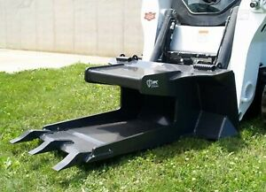 Skid Steer Concrete Claw Attachment By Ffc Fits All Brands