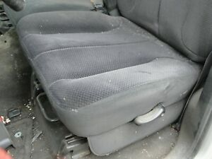 2002 2005 Dodge Ram 1500 2500 3500 Front Cloth Seats Center Console Jump Seat