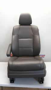 14 17 Honda Odyssey Driver Left Front Bucket Seat Dark Gray Leather