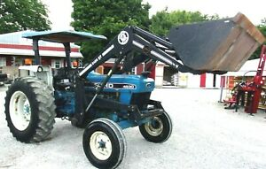 1992 Ford 4630 Tractor Loader free 1000 Mile Delivery From Kentucky