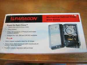 Paragon 8145 20 Oem Refrigeration Controller Defrost o matic Timer A 357 20