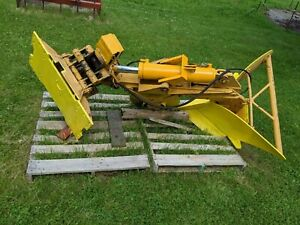 Used John Deere 550g Dozer Fire Plow Good Condition