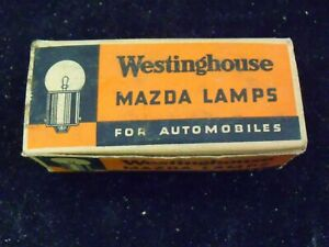 6 Volt 8 Volt Westinghouse Mazda No 82 Lamps Instrument Dc Base 10 Pack