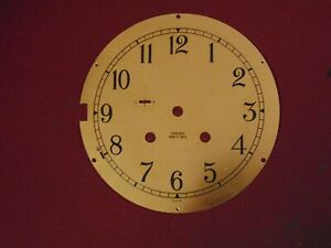 Chelsea Ships Bell Solid Brass Clock Dial Face Plate 6 Part
