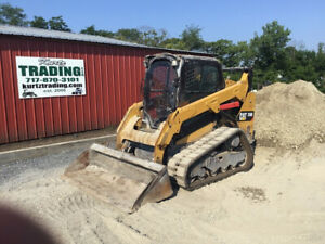 2015 Caterpillar 259d Compact Track Skid Steer Loader W Cab Only 2700 Hours