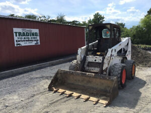 2004 Bobcat S220 Skid Steer Loader W Kubota Diesel Engine Cheap