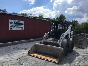 2004 Bobcat S185 Skid Steer Loader W Kubota Diesel Engine Only 2400 Hours