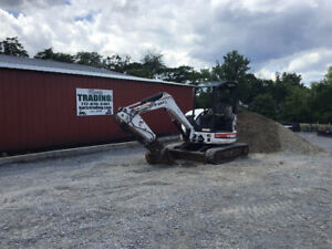 2006 Bobcat 430 Hydraulic Mini Excavator W Extend a hoe Only 2100 Hours